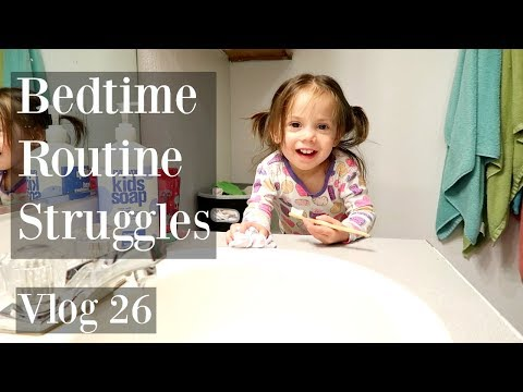 Bedtime Routine with 4 Kids Is A Struggle! VLOG 26.