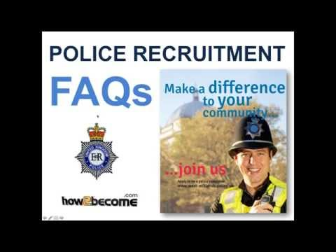 Police Recruitment Frequently Asked Questions
