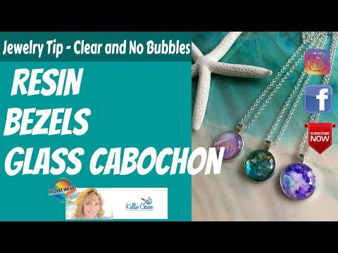 Resin and Alcohol Ink Jewelry Art TIP