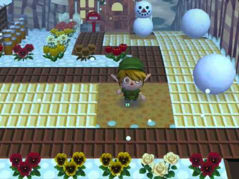 Animal Crossing - Snowman Guide