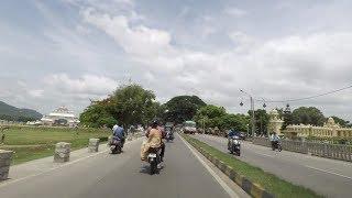 Driving in Mysore 4K (Mysore Palace) - Karnataka, India