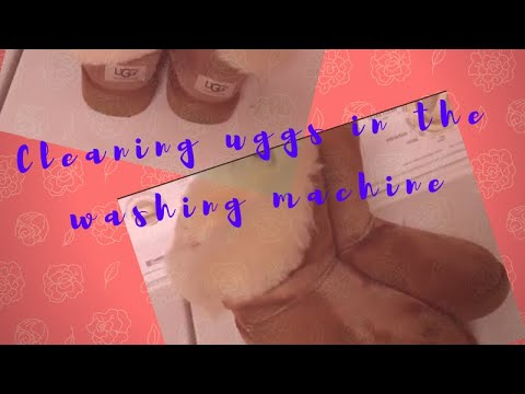 Cleaning Uggs In Washing Machine!