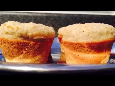 Healthy Wheat Applesauce Oats Muffins for kids by Cooking365