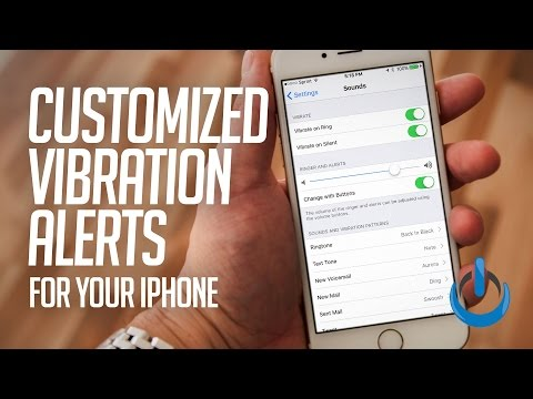 Customized Vibration Alerts for Your iPhone