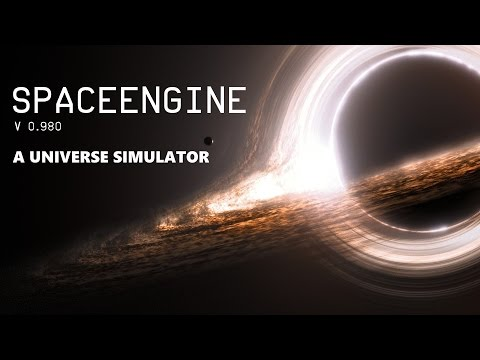 [SpaceEngine v0.980] SUPERMASSIVE BLACK HOLE!