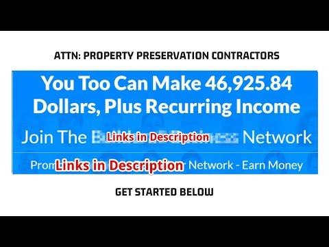 Make Money in Property Preservation (BONUS in DESCRIPTION)