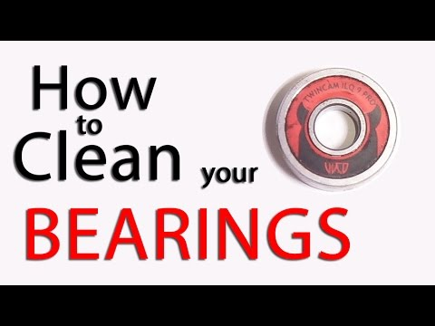 How To Clean Your Bearings Fast & Easy!