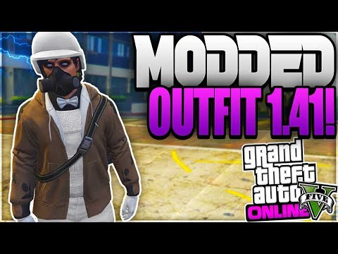 GTA 5 Online - HOW TO GET A * FREE NEXT GEN* MODDED OUTFIT USING *BRAND NEW CLOTHING GLITCHES * 1.41