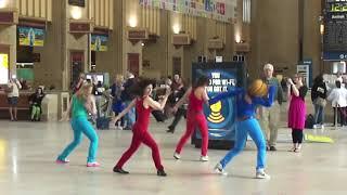 Flash Dance Mob at 30th Street Station Philadelphia, PA