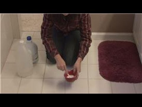 Housecleaning Tips : How to Clean Grout Between Floor Tiles