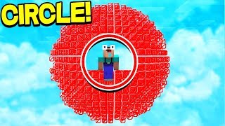 WHAT IF YOU WERE STUCK INSIDE OF A CIRCLE?!
