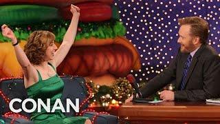 Kristen Schaal's Voice Sounds Sultry In Her Head   CONAN on TBS