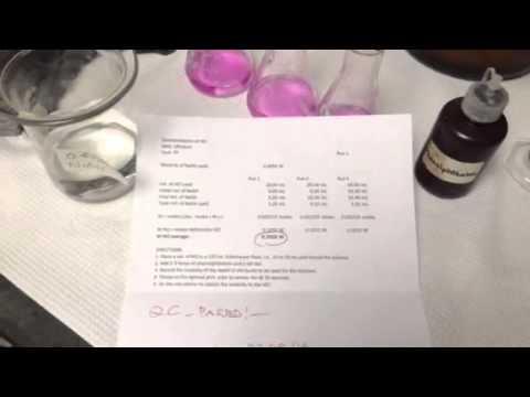 Standardized 0.1xxx M HCl Solution (6 of 6)