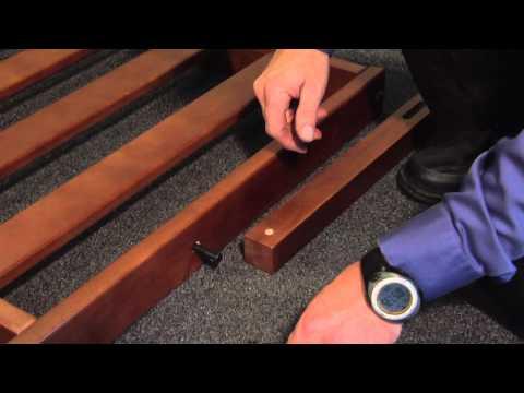 Strata Furniture Wallhugger Futon Frame Assembly