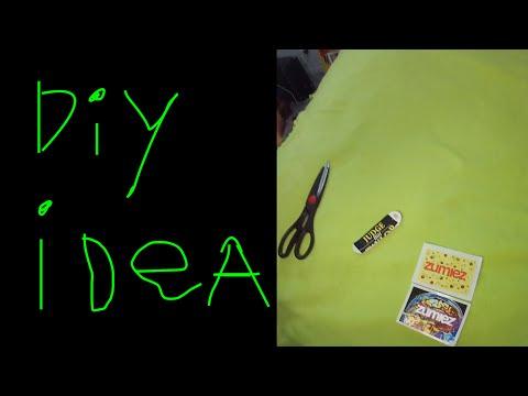 DIY Tech Deck Custom Griptape Sticker idea.