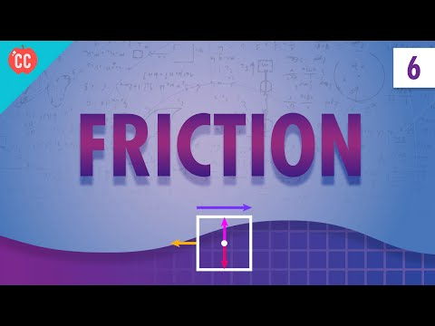 Friction: Crash Course Physics #6