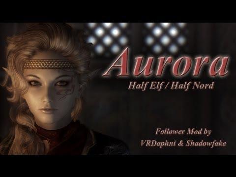 TES V - Skyrim Mods: Aurora Follower