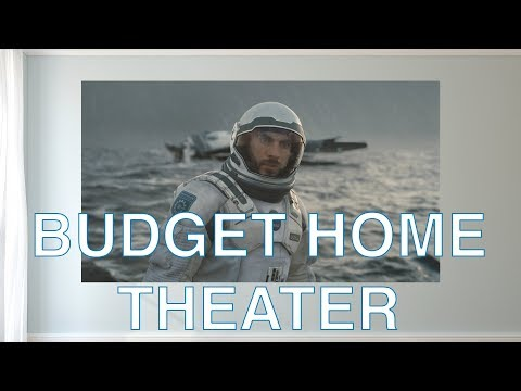 The Best Budget Home Theater Setup!