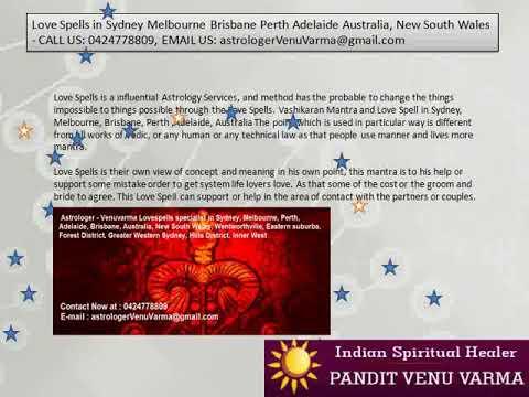 Astrologer-Venuvarma Indian Spiritual Healer in Sydney, Melbourne, Brisbane, Perth, Adelaide,: