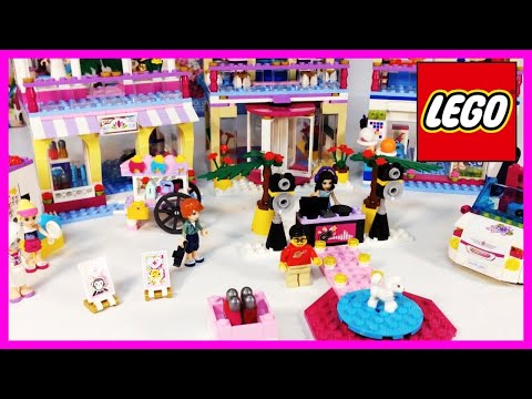 LEGO Friends 41058 Heartlake Shopping Mall Review
