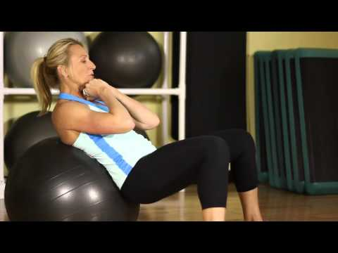 How to Flatten Your Stomach With a Core Ball