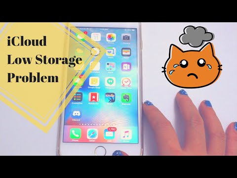 iCloud Storage Almost Full iPhone Storage Problem ~ How To Tutorial ~ iPhone 6S Plus