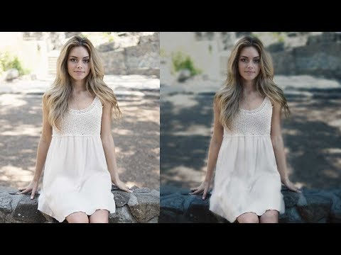 Photoshop Tutorials : Change color tone in Photoshop | Photo retouching