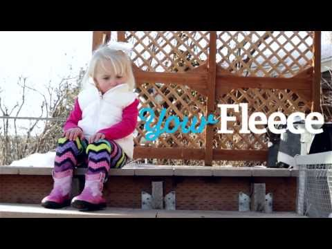 DIY Lined Leggings Made From Fleece Fabric