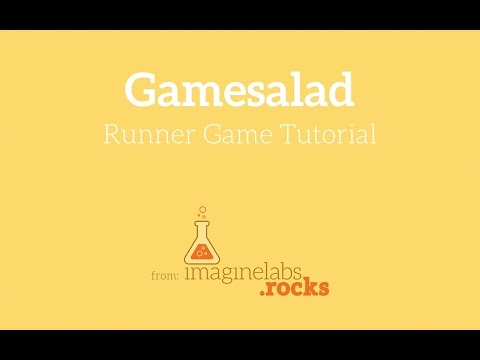 Gamesalad Runner Game Tutorial