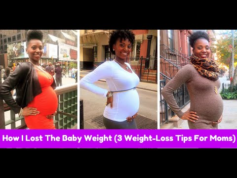 3 Tips On How To Lose The Baby Weight After Pregnancy