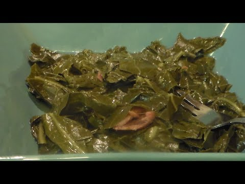 Pressure Cooker Collard Greens/ Holiday Side Dish