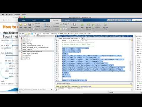 UPC - LEARN MATLAB - Root-finding 02