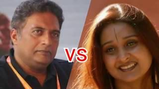 "Prakash Raj vs BJP Leader in ""The Culture Wars"" Programme"