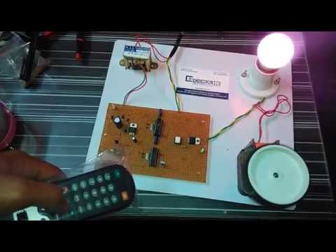 SPEED CONTROL OF AC MOTOR USING INFRARED REMOTE