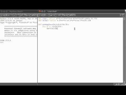 Finding polynomical roots using newtonRaphson and Python