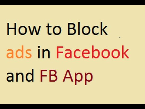 How to Block ads on Facebook | Facebook App