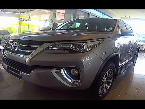 2015, 2016 Toyota Fortuner, Video review  new generation Toyota Fortuner
