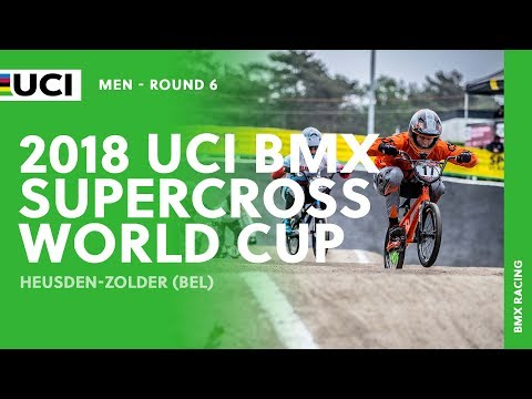2018 UCI BMX SX World Cup - Heusden-Zolder (BEL) / Men Round 6