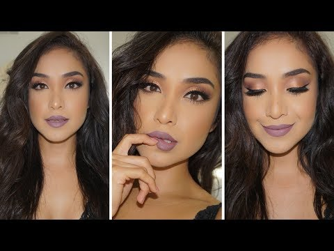 Fall Mauve Glam Tutorial  w/ ABH Subculture Palette | Dulce Candy