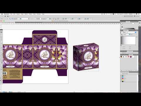 How to Make Realistic 3D Mockup Using Adobe Illustrator | Packaging