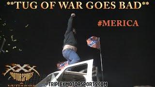 TUG OF WAR GOES BAD!!