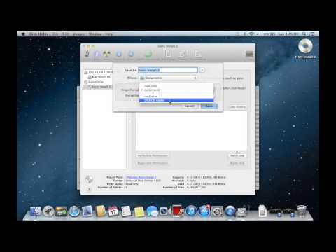 How to Make a CD/DVD Image on a Mac