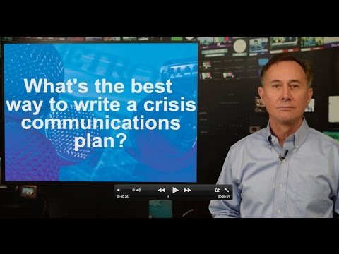 Best Tips for Writing a Crisis Communications Plan: PR Discussion Question
