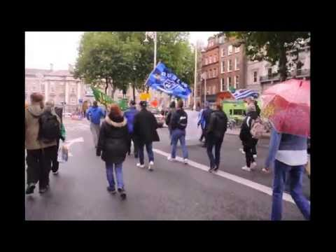 DUBLIN SAYS NO - WEEK 124 MARCHING