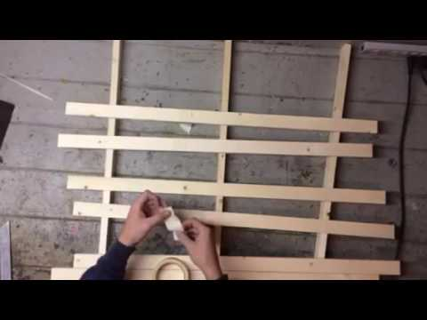 How to make a wooden U.S. Flag