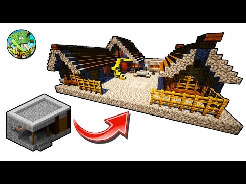 How to Transform a Minecraft Village Blacksmith