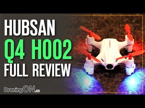 DroningON   $30 Hubsan Q4 H002 Cam Plus Unboxing Full Review