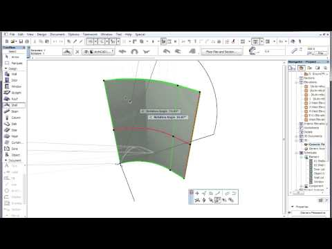 The ARCHICAD Shell Tool - Workflow for using shells to create curved roof structures