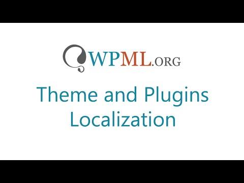 Theme and Plugins Localization in WPML