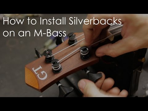 Shop Tips: Installing Silverback Strings on the MicroBass
